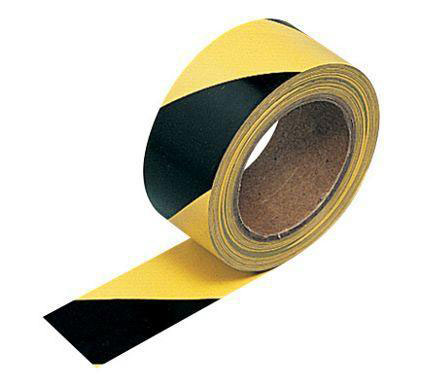 [TPIBLKYLW] Barrier Tape Black/Yellow (500M)