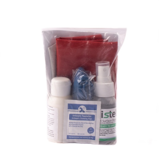 [FPAFAC0034] First Aid Blood Spillage Kit